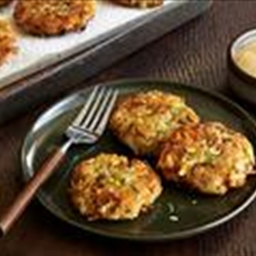 Latkes with Celery and Herbs
