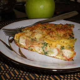 Leftover Pizza Frittata (Using Leftover Pizza!)