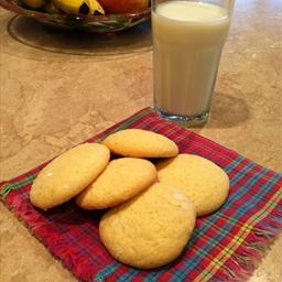 Lemon Cloud Tea Cookies