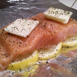 Lemon Salmon Foil Packets