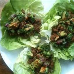 Lettuce Taco burger