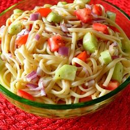 Linguine Salad