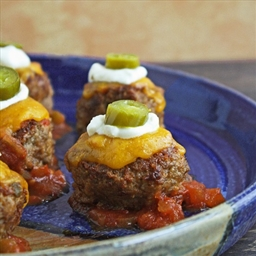 Loaded Naco Meatballs