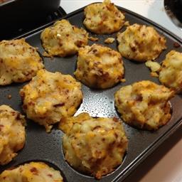 Loaded Potato Muffins