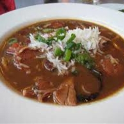 Lobster and Andouille Gumbo