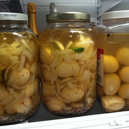 Lucas's Pickled Eggs