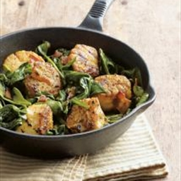 Main - Scallops & Spinach