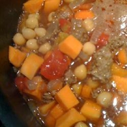 Make Ahead Vegetarian Moroccan Stew