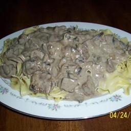 Mama Delilah's Beef Stroganoff