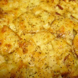 Manchego and Asiago AuGratin Potatoes