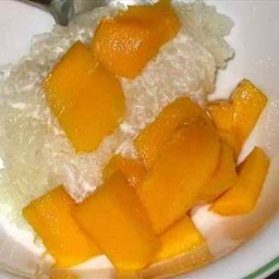 Mangoes with Sticky Rice