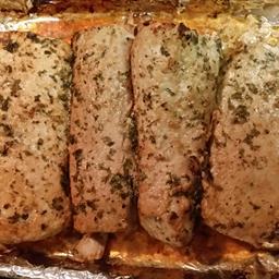 Marinated Shark Steaks