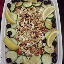 Mediterranean Black Bean Salad