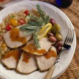 Mediterranean Grilled Pork Roast