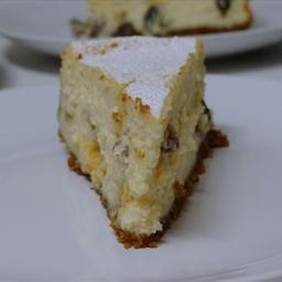 Megan's Amaretto Cheesecake
