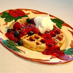 Melt-in-your-mouth Waffles