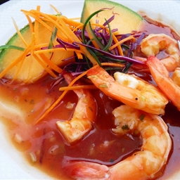 Mexican Shrimp Cocktail (Coctel de Camerones)