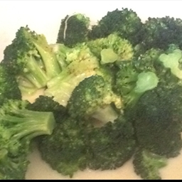 Microwave Buttery Broccoli