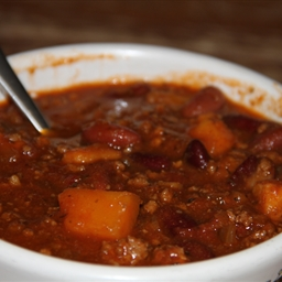 Mike's Beer & Bourbon Chili