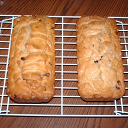 Milk Chocolate Chip Peanut Butter Bread