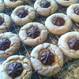 Milk Chocolate Stars Cookies