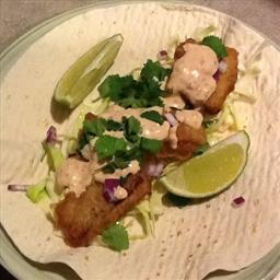 Milwaukee Fish Tacos in Simple Beer Batter