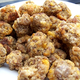 Mimi's Sausage (and Cheese) Balls
