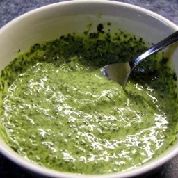 Mint And Cilantro Chutney