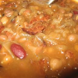 Mixed Baked Beans (crockpot)