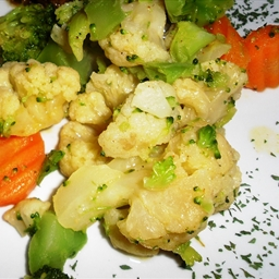 Mixed Vegetables with Herb Butter