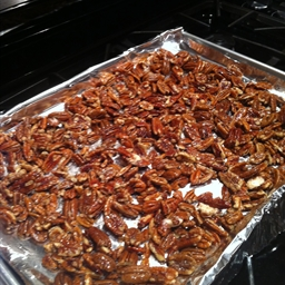 Mommy Dot's Famous Salted Pecans