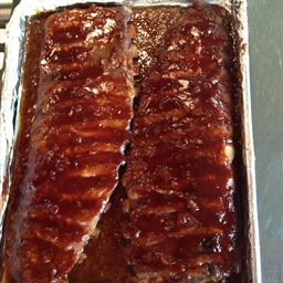 Mom's BBQ ribs