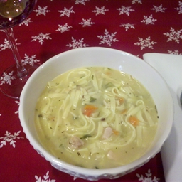 Mom's Chicken Noodle Soup...Stoup