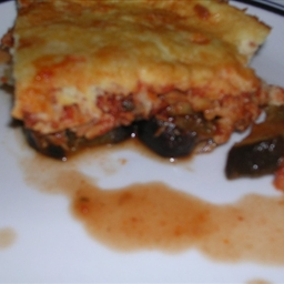 Moussaka Di Mare (Eggplant and Tuna)