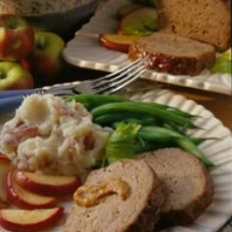 Mustard-Apple Meat Loaf