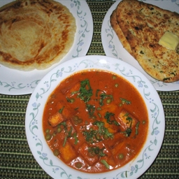 Mutter Paneer Butter Masala