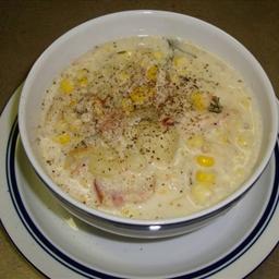 Nautico's Corn-and-crab Chowder