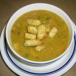 Nautico's Split Pea with Ham Soup