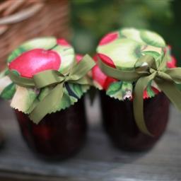 No-Cook Apple Raspberry Jam
