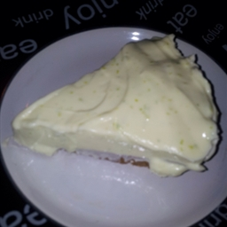 No cook key lime pie