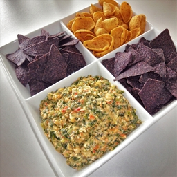 No Joke Artichoke & Spinach Dip