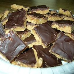 No Oven Peanut Butter Squares