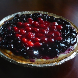 non-dairy blueberry/cherry cheesecake
