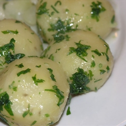 North Croatian boiled potato