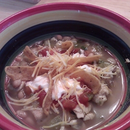 Northern White Bean Chili with Fritos