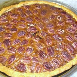 Not-Too-Gooey Pecan Pie