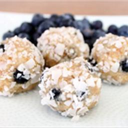Nutty Blueberry Protein Balls