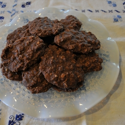Desserts Cookies and Bars Oatmeal Fudge No Bake Cookies (no butter