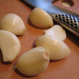 Oil Poached Garlic Pur?e and Roasted Garlic Oil