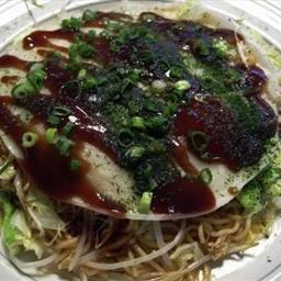 Okonomiyaki, Hiroshima Style
